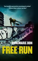Boek cover Free run van Annemarie Bon