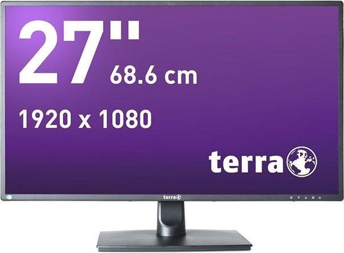 Wortmann AG TERRA 2756W V2 68,6 cm (27) 1920 x 1080 Pixels Full HD LED Zwart