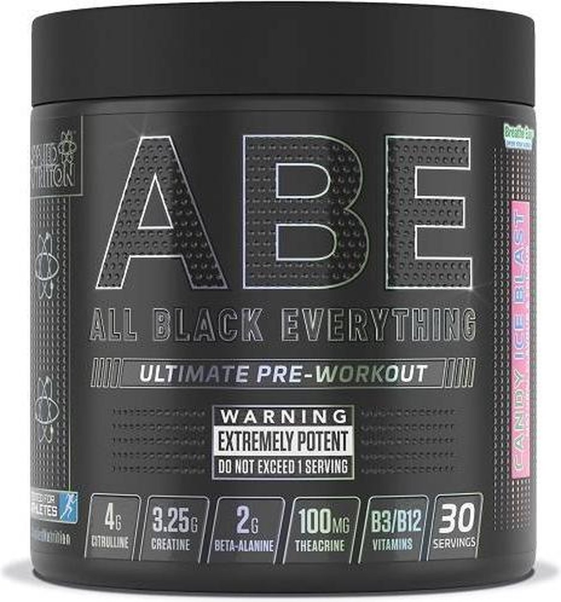Applied Nutrition - ABE Ultimate Pre-Workout - 315 g - Candy Ice Blast Smaak - 30 servings