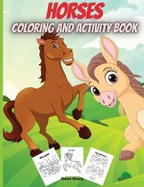 Horses Coloring And Activity Book