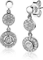 Zinzi Jewels 925 Sterling Zilveren Oorbellen  - Zilver