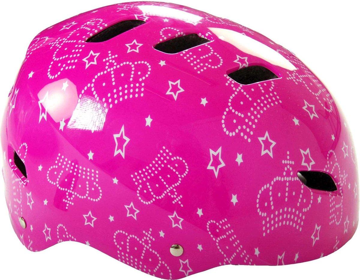 Volare Skatehelm - Pink Queen - 55-57 cm - Meisjes