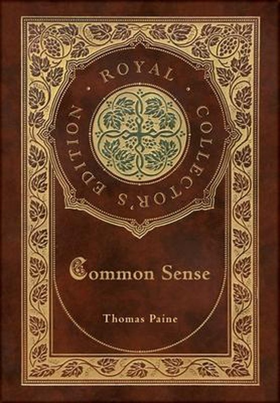 Boek cover Common Sense (Royal Collectors Edition) (Case Laminate Hardcover with Jacket) van Thomas Paine (Hardcover)