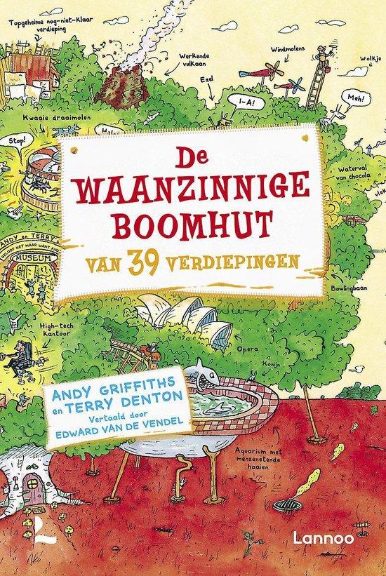 Boek cover De Waanzinnige Boomhut Van 39 Verdiepingen van Andy Griffiths (Hardcover)