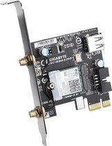 Gigabyte GC-WBAX200 netwerkkaart & -adapter Intern WLAN / Bluetooth 2400 Mbit/s