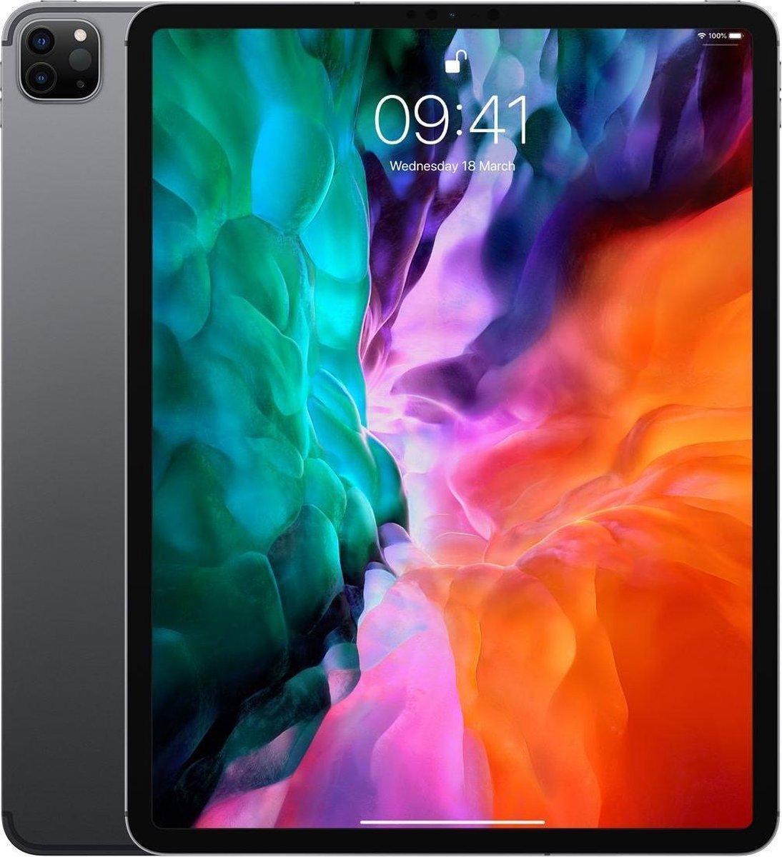 Apple iPad Pro (2020) refurbished door Adognicosto - A Grade (zo goed als nieuw) - 12.9 inch - WiFi/4G - 512GB - Spacegrijs