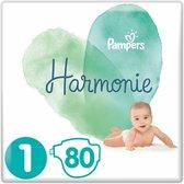 Pampers Harmonie Luiers Maat 1 (2-5kg) 80 stuks