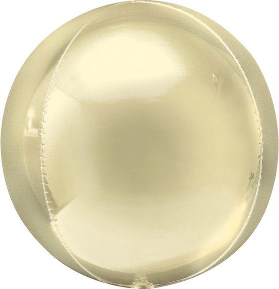 Anagram Folieballon Orbz 40 Cm Geel
