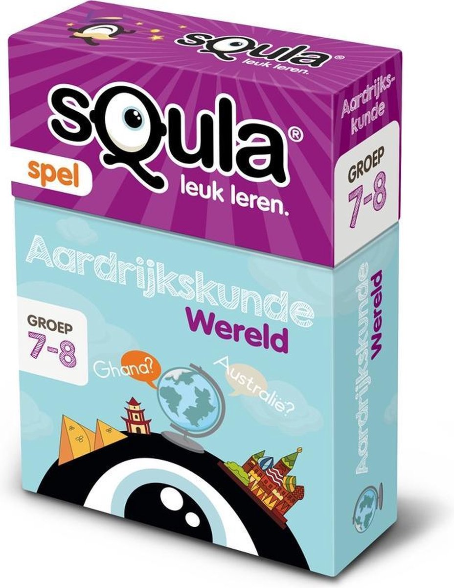 Identity Games Spel Squla Aardrijkskunde Kaartspel
