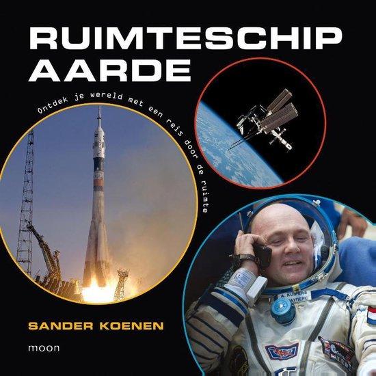 Cover van het boek 'Jij bent astronaut van… ruimteschip aarde'