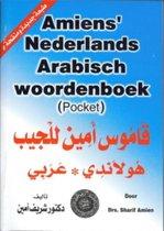 Boek cover Amiens Nederlands- Arabisch woordenboek(pocket) van Sharif Amien