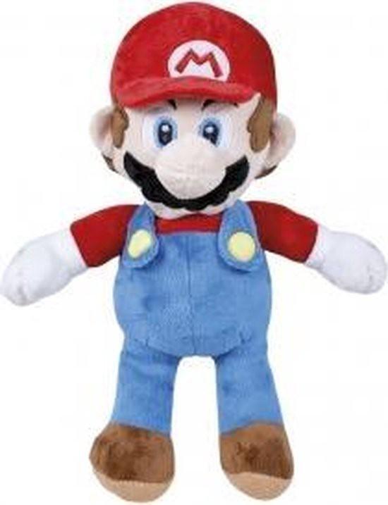 Afbeelding van het spel Super Mario Bros. - Classic Mario Plush 25cm