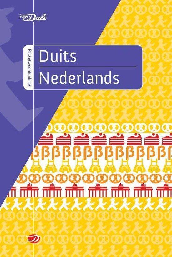 Boek cover Van Dale pocketwoordenboek - Van Dale pocketwoordenboek Duits-Nederlands van Diverse auteurs (Paperback)