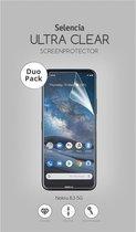 Selencia Duo Pack Ultra Clear Screenprotector voor de Nokia 8.3 5G
