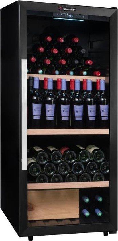 Koelkast: Climadiff PCLV160 - Wijnklimaatkast - 160 flessen, van het merk Climadiff
