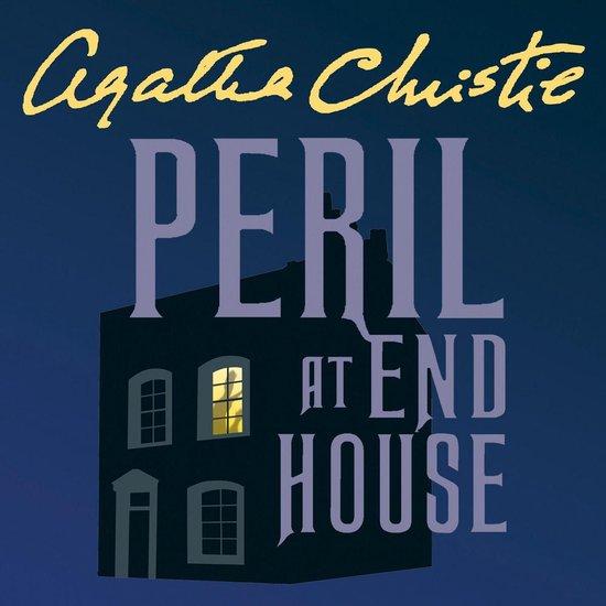 Boek cover Peril at End House van Agatha Christie (Onbekend)
