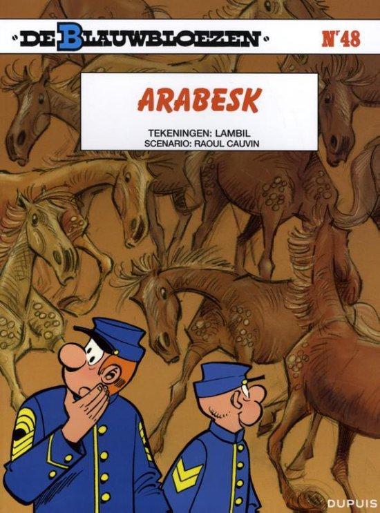 Afbeelding van het spel Stripboeken De Blauwbloezen - Arabesk - Nummer 48