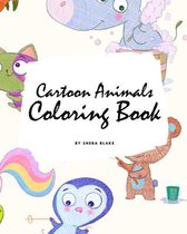 Cartoon Animals Coloring Book for Children (8x10 Coloring Book / Activity Book)