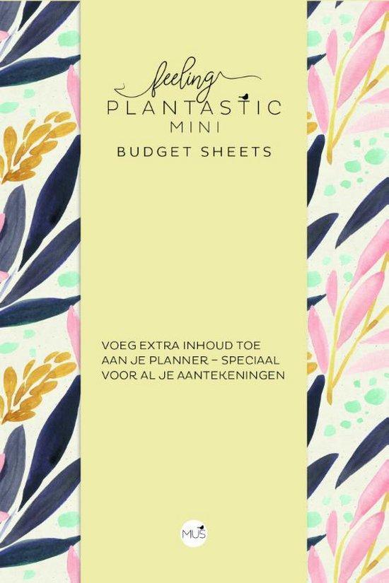 Budget sheets MINI - Feeling Plantastic - none  