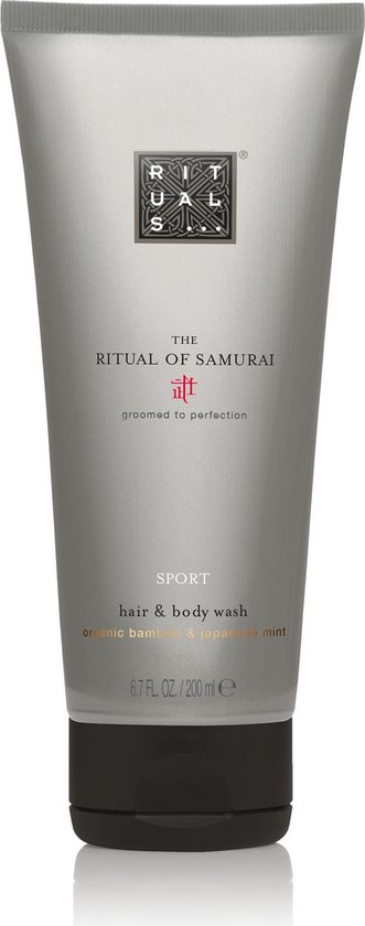 RITUALS The Ritual of Samurai Haar & Lichaamszeep - 200 ml