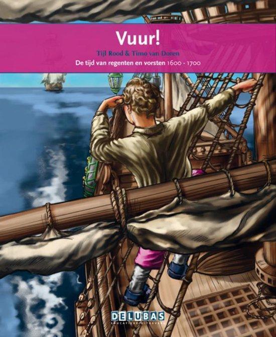 Vuur- Michiel de Ruyter - Tijl Rood |