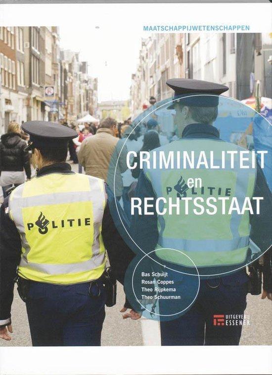 Criminaliteit en rechtsstaat - Bas Schuijt pdf epub