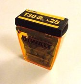 Dewa Tic Tac Box Torx Bits T30 Set 25tlg
