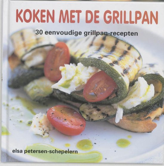 Cover van het boek 'Koken met de grillpan'