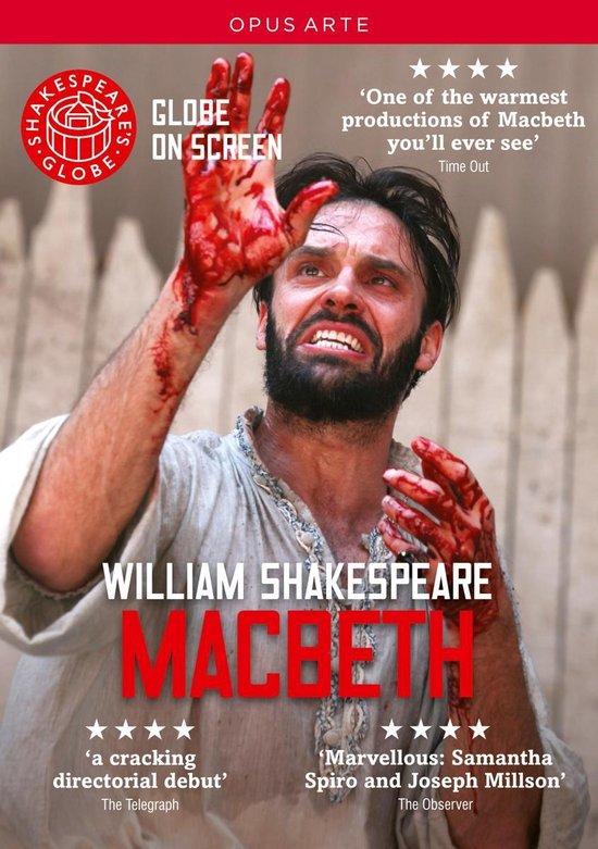 CD cover van Shakespeares Globe - Macbeth van Shakespeare, William