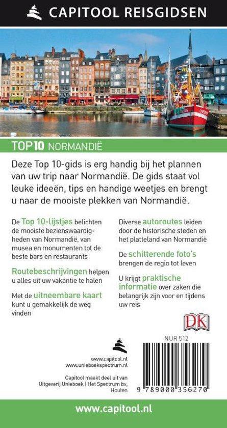 Capitool Reisgidsen Top 10  -   Normandië - Fiona Duncan
