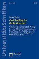 Cash Pooling Im Gmbh-Konzern