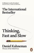 Boek cover Thinking, Fast and Slow van Daniel Kahneman (Onbekend)