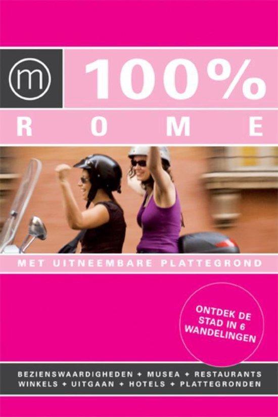 Cover van het boek '100% Rome' van Irene de Vette