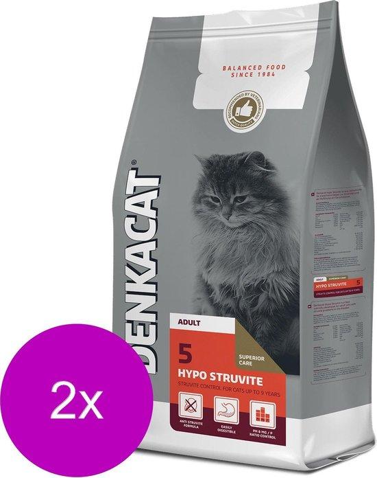 Denkacat Hypo Struvite - Kattenvoer - 2 x 2.5 kg