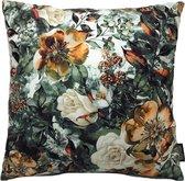 Classic Flowers - Bloemen Kussenhoes | Katoen / Polyester | 45 x 45 cm