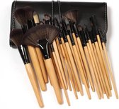 Femuniq Professionele 24-delige hout make-up kwasten set
