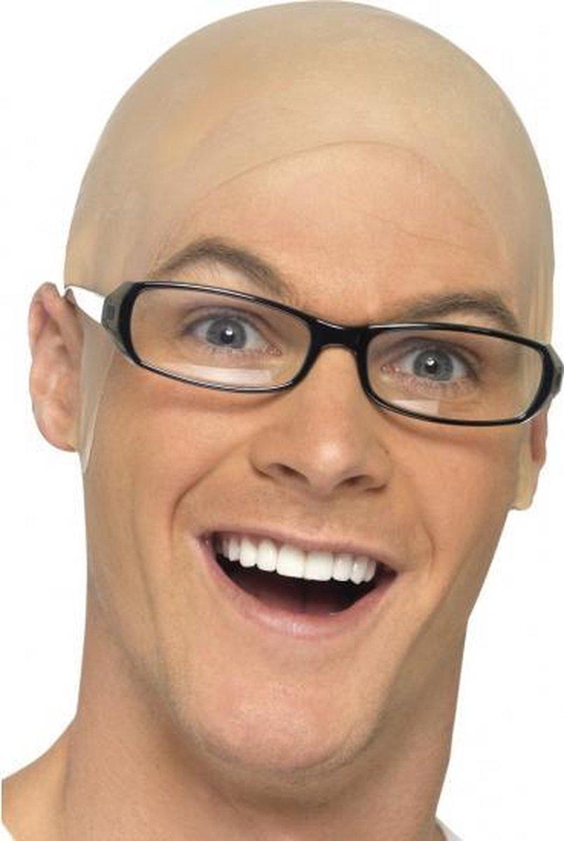 Kale kop pruik voor een kaal hoofd
