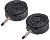 Fiets Binnenband - (SET/2 STUKS) - Dunlop Ventiel - 28X1 - 5/8X1 - 3/8 - 700x35 - 43C | Binnenbanden