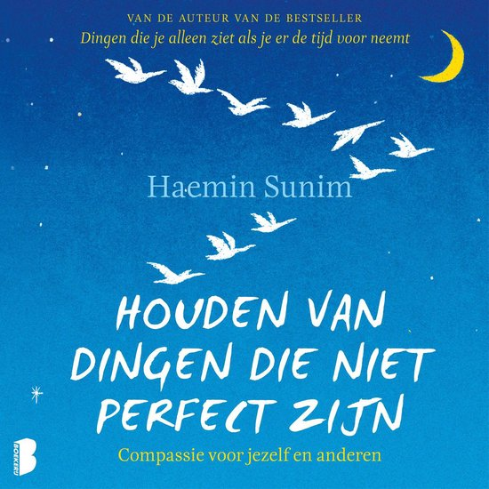 Boek cover Houden van dingen die niet perfect zijn van Haemin Sunim (Onbekend)