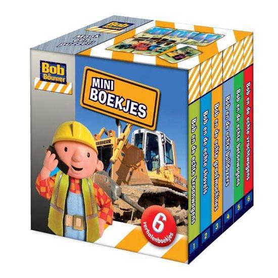 Cover van het boek 'Bob de Bouwer - Miniboekjes'