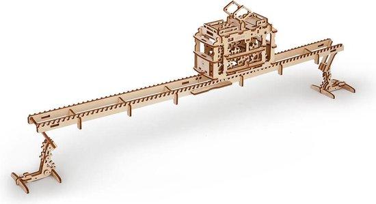 Ugears Modelbouw Hout Tram