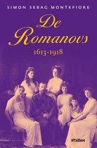 Boek cover De romanovs van Simon Montefiore (Hardcover)