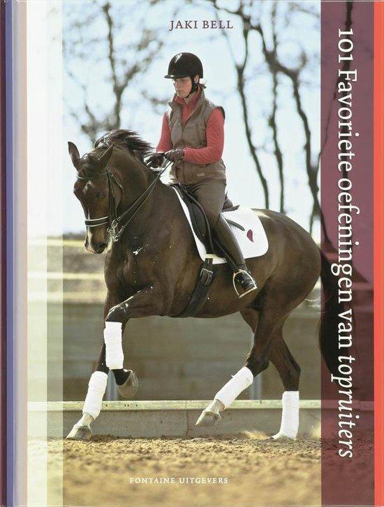 Cover van het boek '101 Favoriete oefeningen van topruiters' van J. Bell