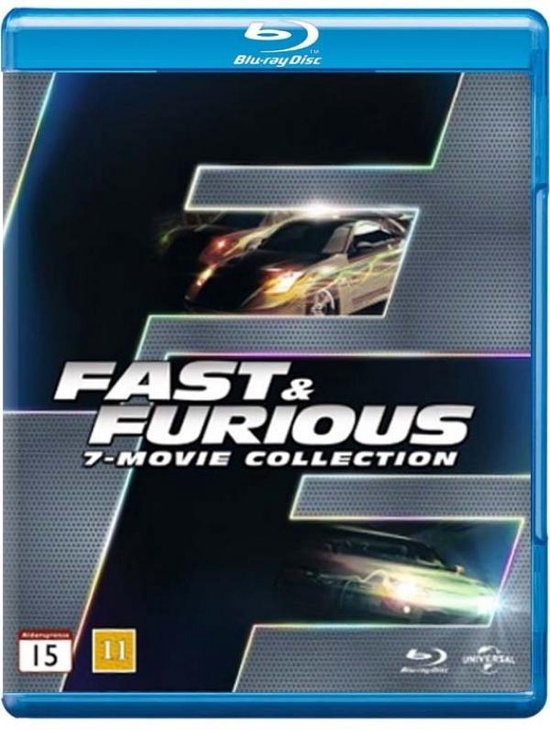 Fast & Furious 1 t/m 7