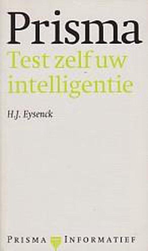 Prisma test uw intelligentie (11e dr) - Eysenck |