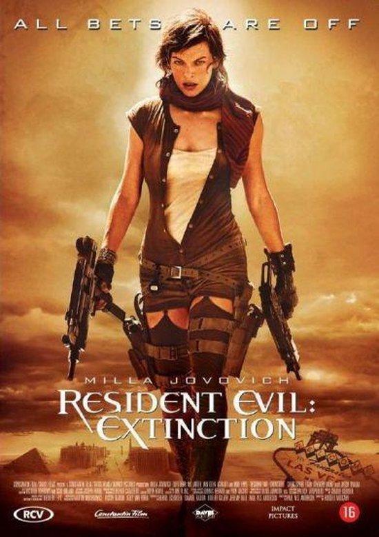 Cover van de film 'Resident Evil: Extinction'