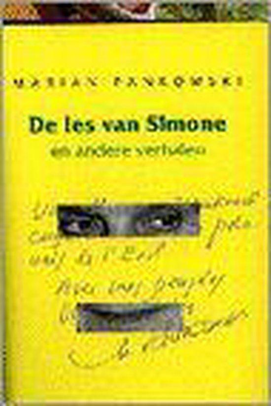 LES VAN SIMONE, DE EN ANDERE VERHALEN - Marian Pankowski |