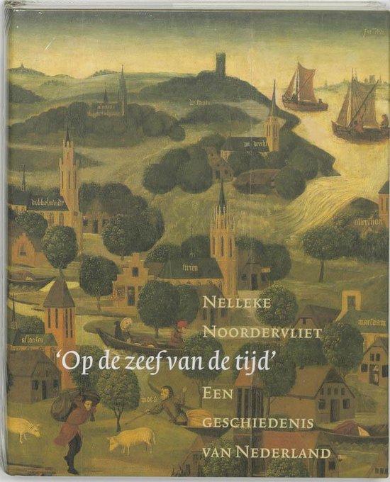 Cover van het boek ''Op de zeef van de tijd'' van Nelleke Noordervliet