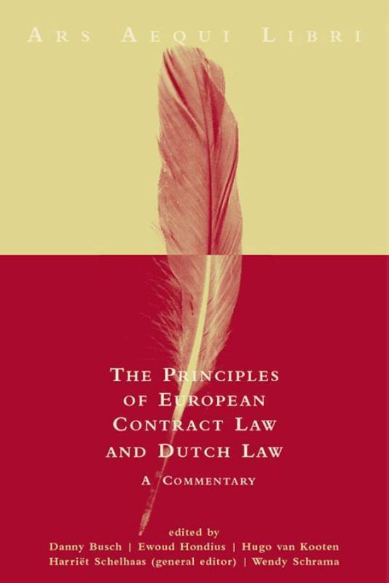 Principles of European contract law and Dutch law - none |