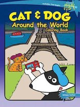 SPARK Cat & Dog Around the World Coloring Book